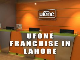 Ufone franchise in Lahore