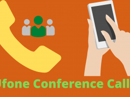 Ufone conference call