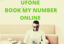 ufone book my number